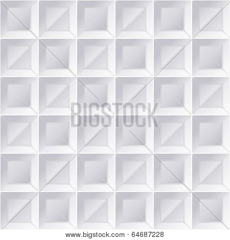 Geometric Pattern Windows Grey