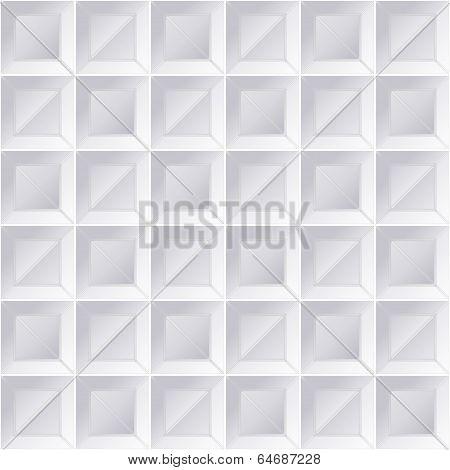 Geometric Pattern Windows Grey
