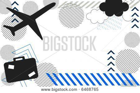 Air Travel Background