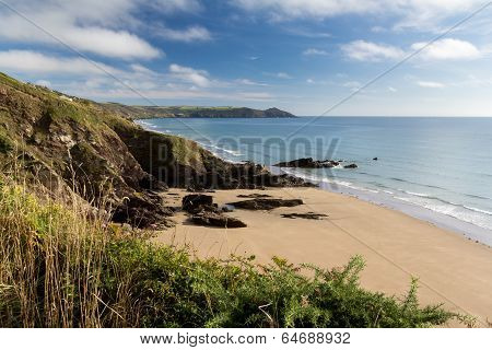 Sharrow Point Cornwall England