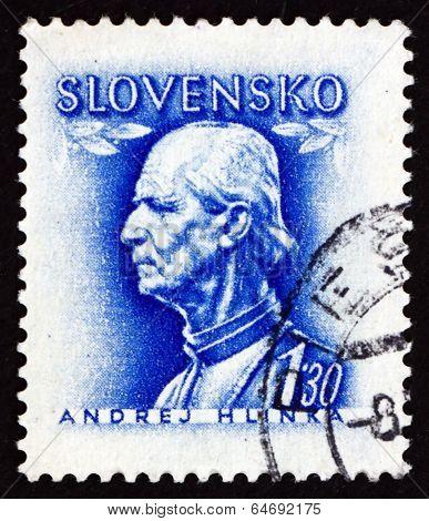 Postage Stamp Slovakia 1943 Andrej Hlinka, Politician And Priest