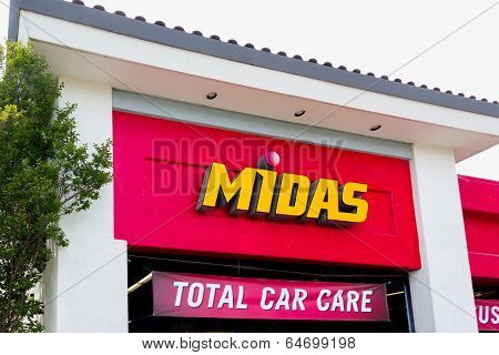 Midas Automotive Service Facility