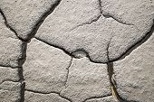 stock photo of mud  - Dry mud from a dry area - JPG