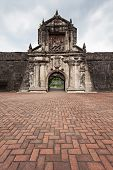 stock photo of conquistadors  - Fort Santiago in Intramuros Manila city Philippines - JPG