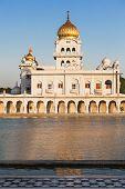 pic of bangla  - Gurdwara Bangla Sahib is the most prominent Sikh gurdwara - JPG