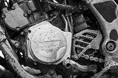 foto of motocross  - Close - JPG