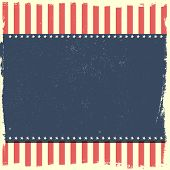 picture of patriot  - detailed illustration of a grungy patriotic background - JPG