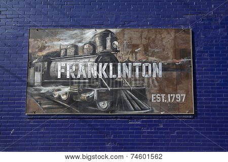 COLUMBUS, OHIO-OCTOBER 11, 2014:  City leaders in Columbus have targeted Franklinton for urban renewal.