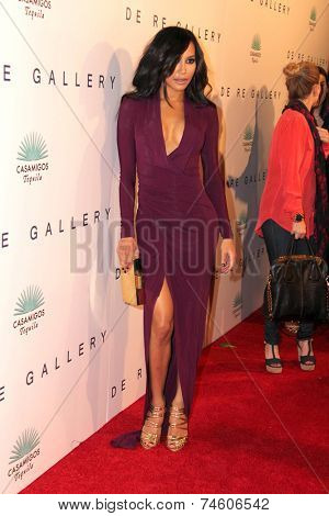LOS ANGELES - OCT 23:  Naya Rivera at the De Re Gallery & Casamigos Host The Opening Brian Bowen Smith's