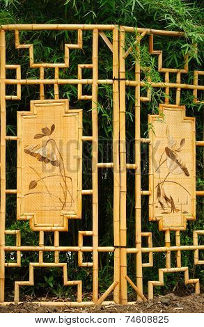 Bamboo Screen
