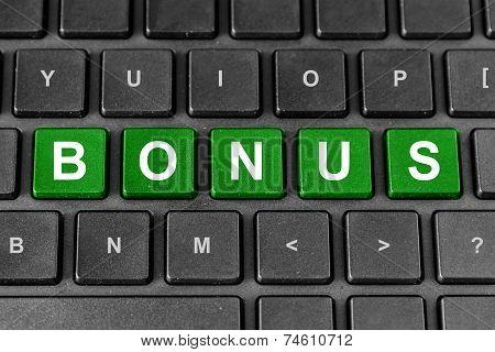 Bonus Word On Keyboard