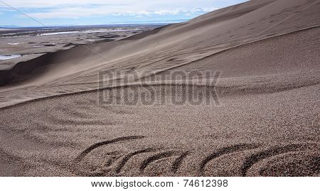 Great Sand Dunes National Park And Preserve Is A United States National Park Located In The San Luis