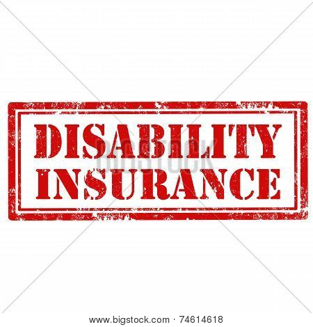 Disability Insurance-stamp