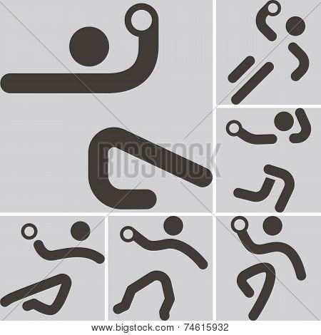 Handball Icons