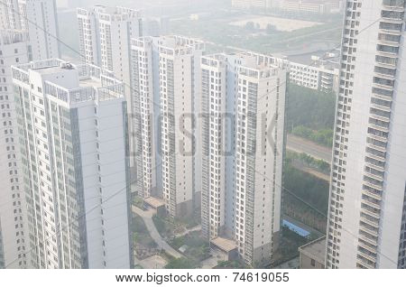 Apartment Buildings in Yantai China