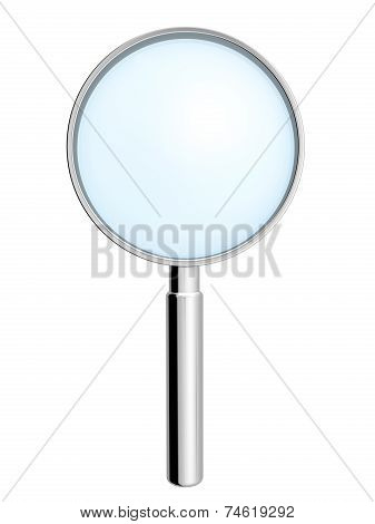 Metallic Hand Lens.