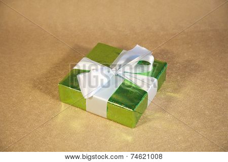 Brilliant Green Gift Box