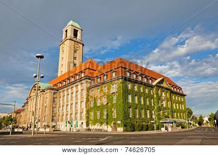 Berlin-spandau Town Hall (rathaus Spandau), Germany