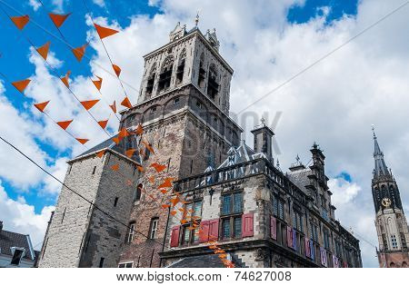 City Hall Of Delft