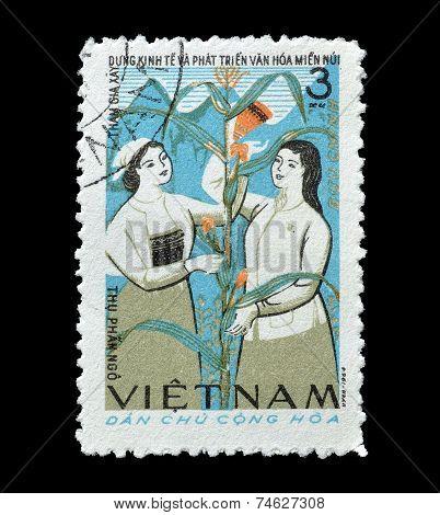 Vietnam stamp 1965