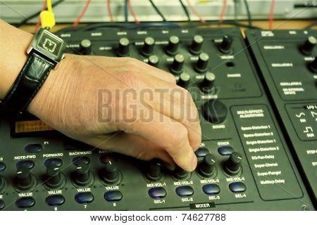 Musician Hand
