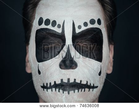 Halloween Skull Man
