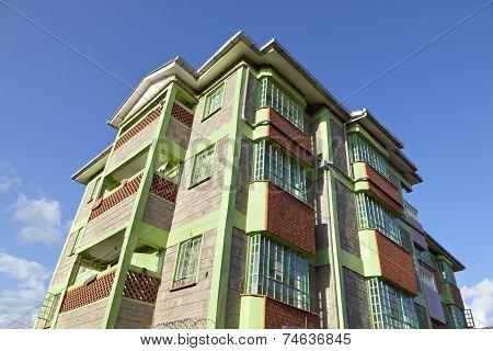 Kenyan Apartment Building