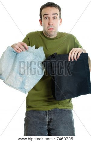 Cloth Or Plastic Bags