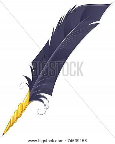 Golden quill Pen