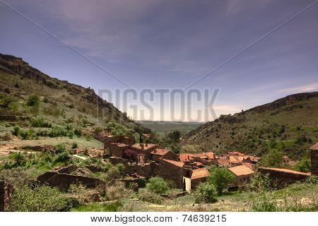 View of Patones de Arriba
