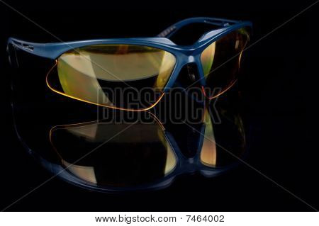 Yellow Sporting Glasses