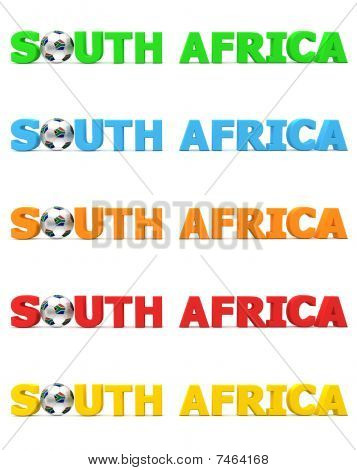 Football South Africa - Five Colours