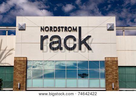 Nordstrom Rack Retail Store Exterior