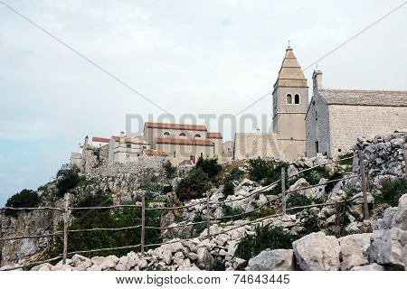 Lubenice On Island Cres, Croatia