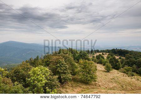 Mountain Range Autumn Landscape