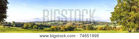 Panoramic Cotswold View, Gloucestershire, England