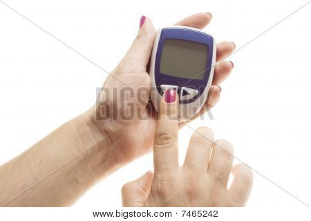 Diabetes Equipment - Blood Sugar Test