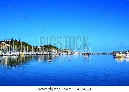 Harbour at New Caledonia