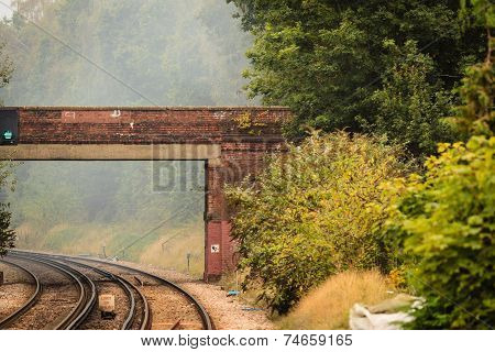 Rail Road Railway Tracks.