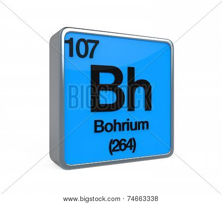 Bohrium Element Periodic Table