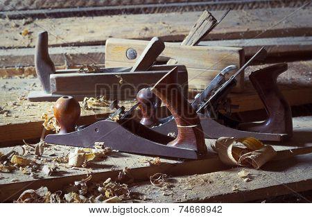 Old Carpenter's Plane