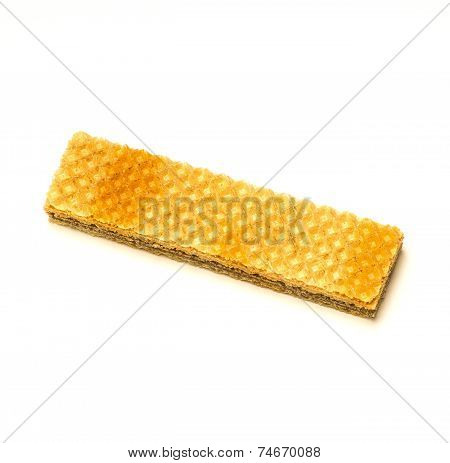 Wafer Isolated On White Background.