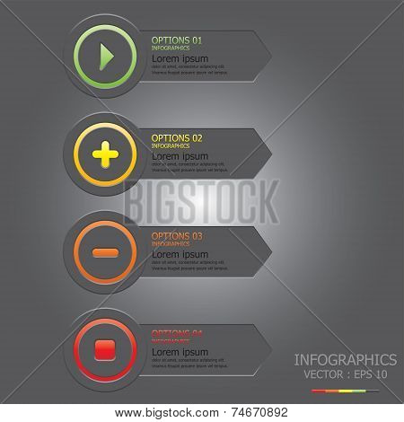 Modern Circle Business Infographic Design Template