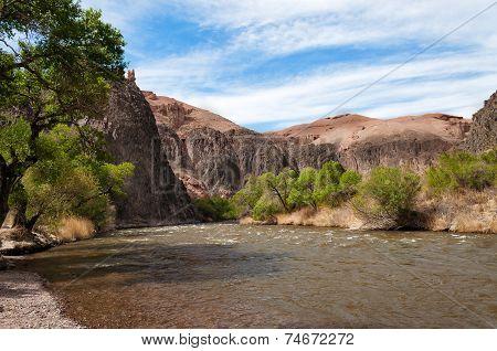 Sharyn River. Kazakhstan