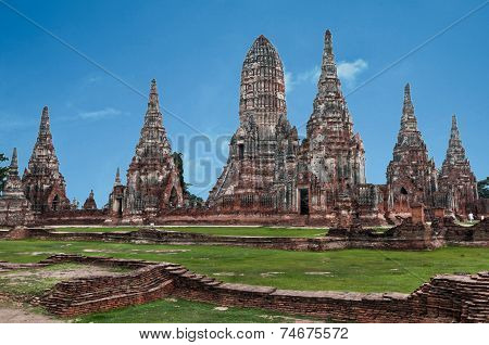 Ancient City Of Ayuttaya, Thailand