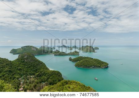 View Point Of Ang Thong Islands National Park ,thailand