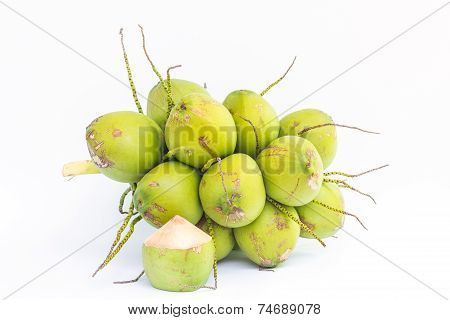 Coconut fruits for water drinking