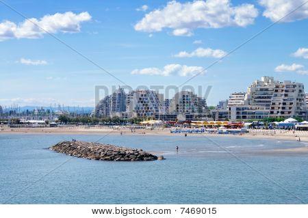 Grande Motte beachside resort