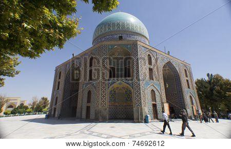 The shrine of Khwaja Rpiea
