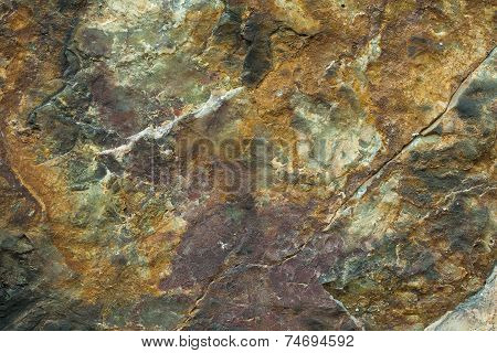 Texture, Close-up Of Wall Rocks